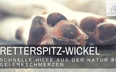 Retterspitz – Wickel  – schneller Helfer gegen Gelenkschmerzen beim Hund