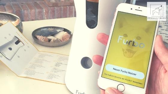 Furbo Hundekamera Installation mit Handy