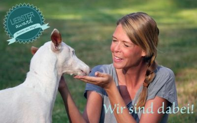 Liebster Award – DOGGY FITNESS wurde nominiert! YEAH!