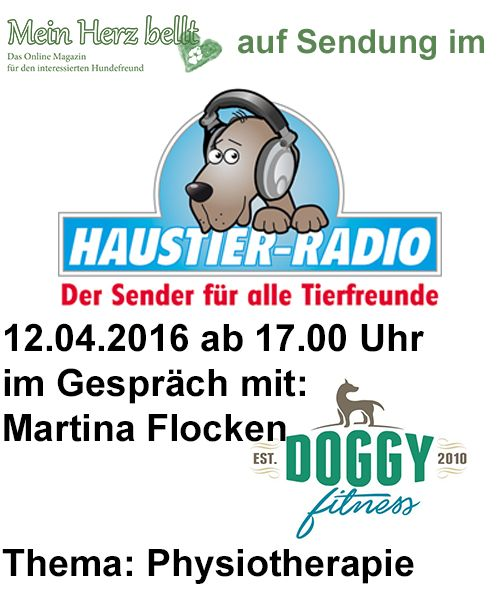 Doggy Fitness im Interview beim Haustier-Radio