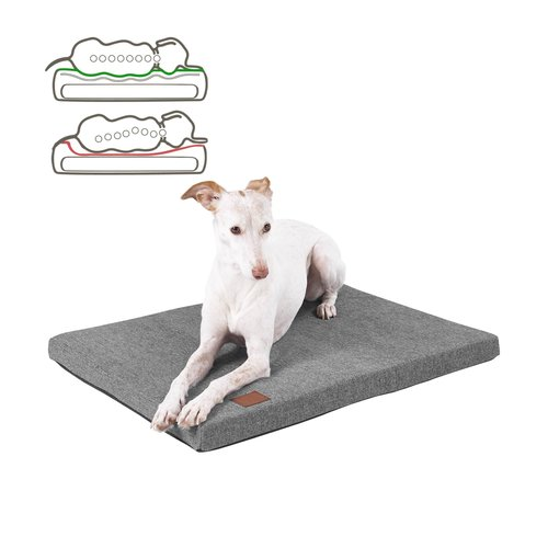 orthopaedische-hundematte-cosy-easy-clean-webstoff-farbe-grau
